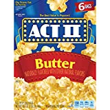 Act II Butter Popcorn, 6 ct