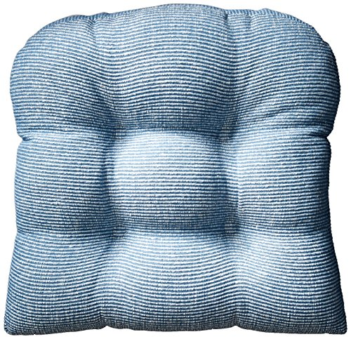 Klear Vu Gripper Non-Slip Saturn Tufted Universal Chairpad Seat Cushion, 15