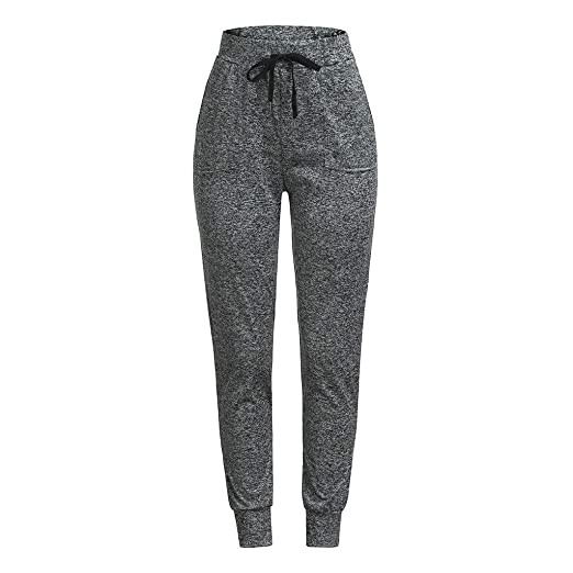 ac2df9bc4bdfe PASHY Sweatpants for Women with Pockets, Women's Loose Yoga Pants Sports  Pants Pencil Pants for