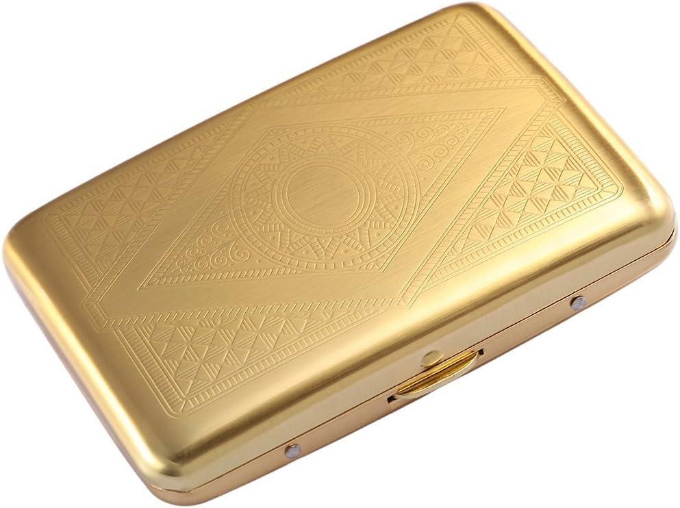 RFID Credit Card Holder Case Steel Electronic Protector Metal Wallet Women Men
