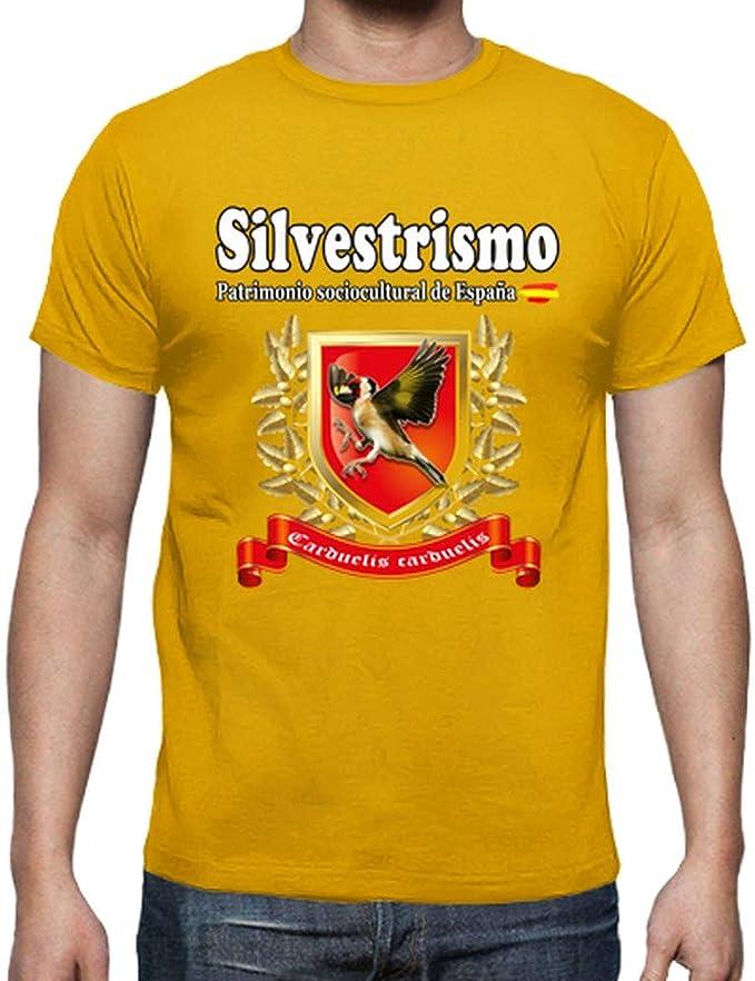 latostadora - Camiseta Jilguero 2016-05 para Hombre: afernandezalonso: Amazon.es: Ropa y accesorios