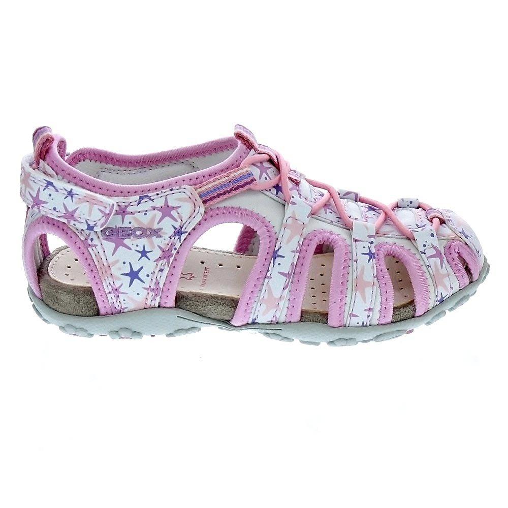 4343fc212e Geox Sandals J52D9C 0CE15 C0814 (24, White): Amazon.co.uk: Shoes & Bags