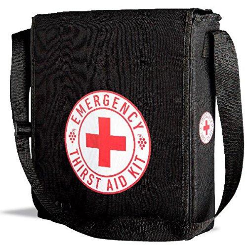 Insulated Tote Bag - Wine-1-1 Emergency