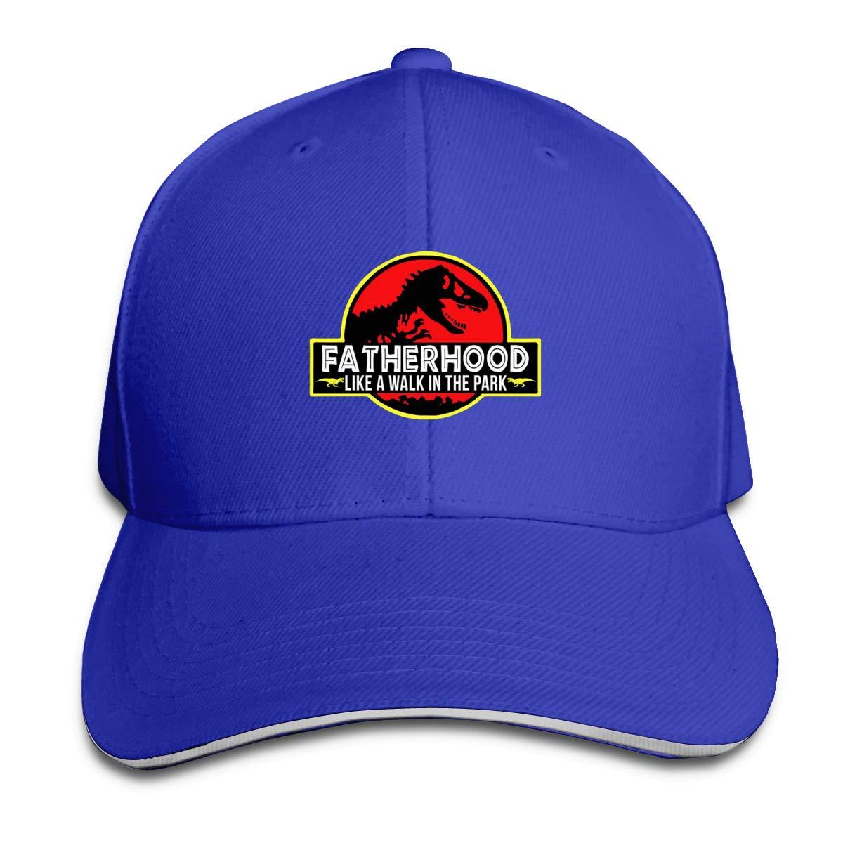 Fatherhood Like A Walk in The Park Unisex Twill Adjustable Sports Hat