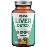 Organifi: Liver Detox - Herbal Liver Detox and Support - 30 Day Supply - Optimal...