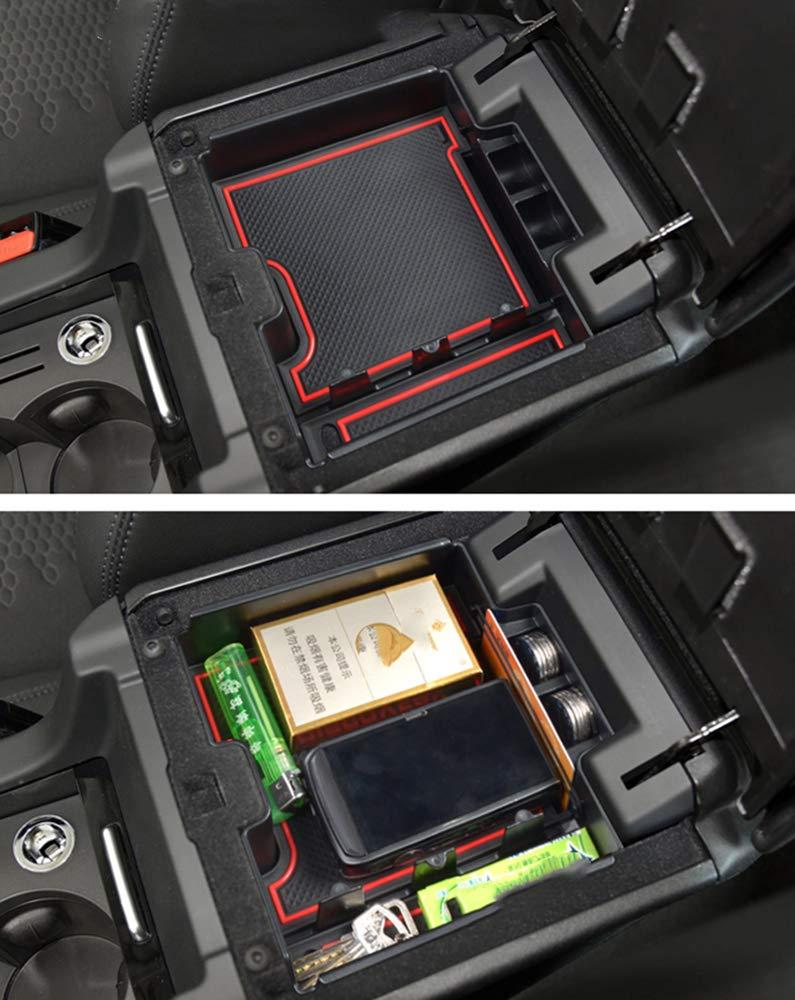 Accoudoir Bo/îte De Rangement Pour Velar Int/érieur Console Centrale Avant Plateau De Gant De Accessoires De Voiture Styling