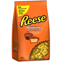 REESE Chocolate Candy Peanut Butter Cups, Miniatures, 900 Gram