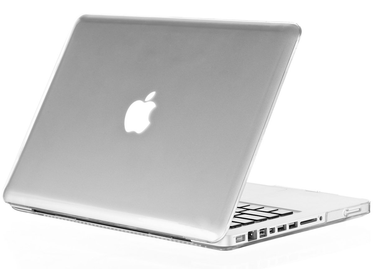 Kuzy 17-inch Soft-Touch Hard Case for MacBook Pro 17'' Model: A1297 Aluminum Unibody, Cover Ultra Slim - CLEAR