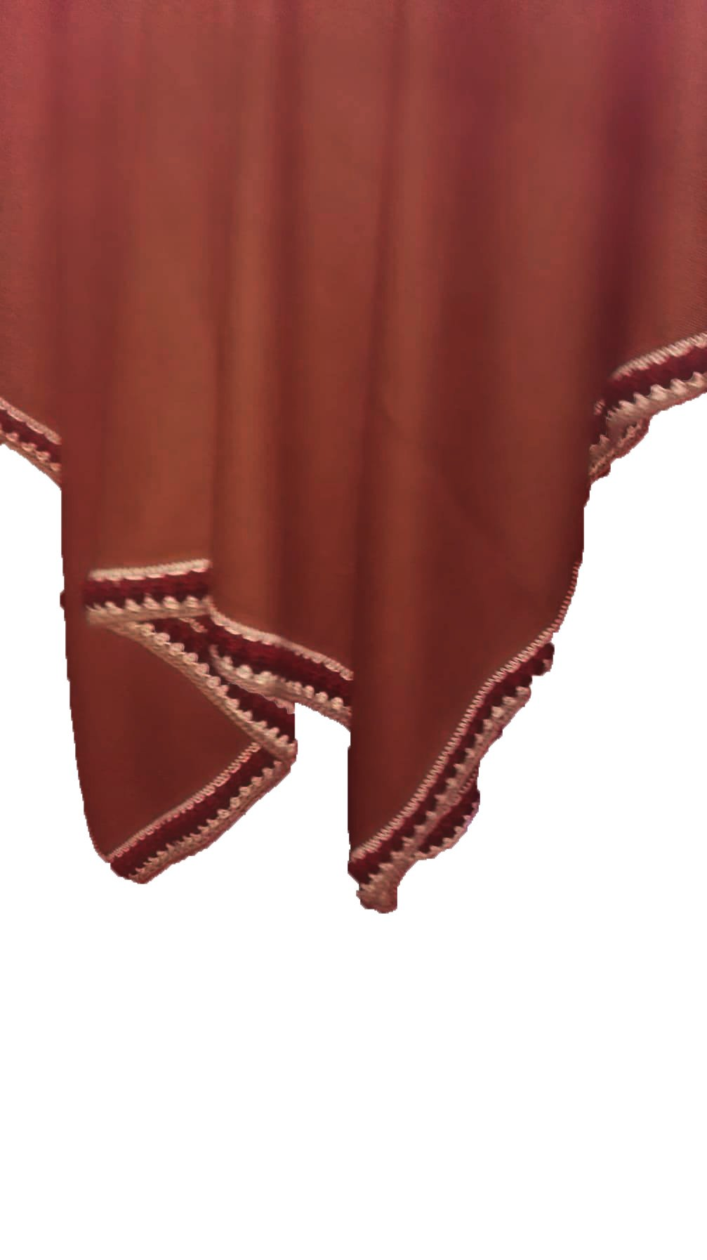 Hypoallergenic 100% Royal Alpaca Poncho Turtleneck Wrap Shawl, Brown by Sweet Dreams Home (Image #2)