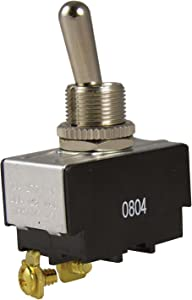 Gardner Bender GSW-10Electrical Toggle Switch, SPST, ON-OFF,20 A/125V AC,Screw Terminal