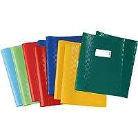 Herma 19997 - Lote de cubiertas para cuadernos de ejercicios (A4), varios colores