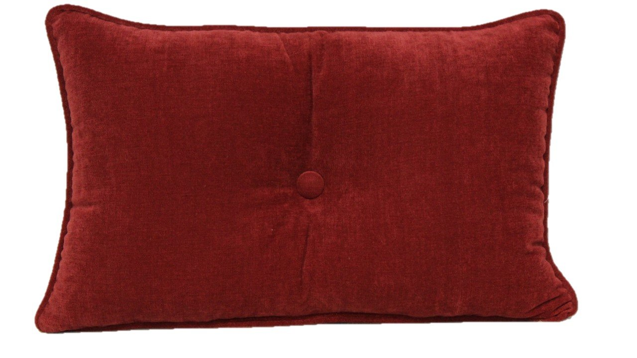 Brentwood Originals 7650 Avalon Pillow, 13 by 20-Inch, Picante