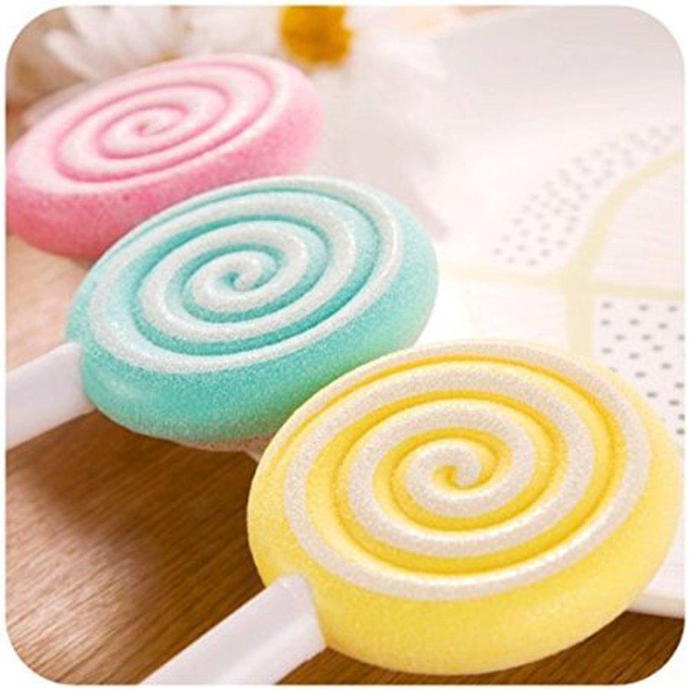 cgdiaoju Lovely Lollipop Pedicura Scrub piedra pómez Clean pie archivo pie limpia Remover