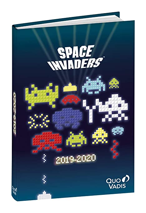 Amazon.com : Quo Vadis Space Invaders Textagenda Daily ...