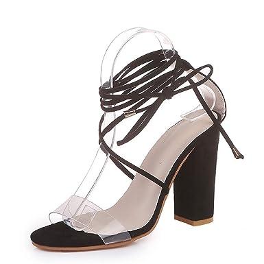 1147c32ac5cef VECDY Schuhe Damen, Frauen Reißverschluss Damen Sandalen Kreuzgurt ...