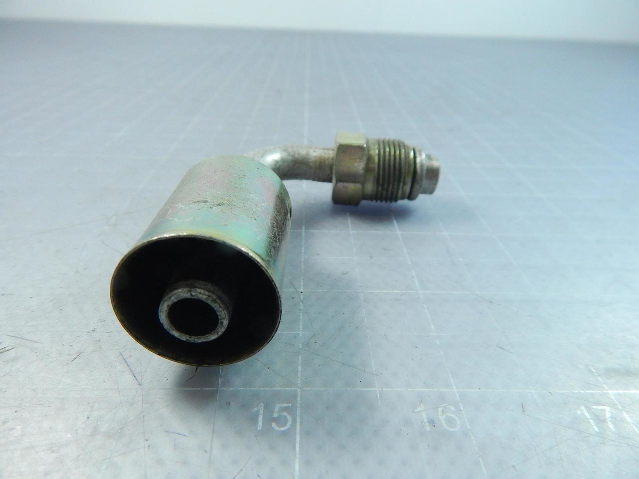 13-32 Male SAE Tube PolarSeal 8ACA-8MTON90 O-Ring Nut Elbow