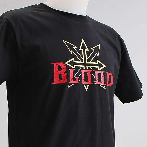 Chaos Blood. Camiseta negra o roja chico: Amazon.es: Handmade