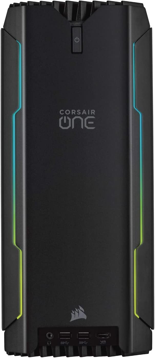 CORSAIR ONE i160 Compact Gaming PC, i9-9900K, RTX 2080 Ti, 480GB M.2 SSD, 2TB HDD, 32GB DDR4, Windows 10 Home