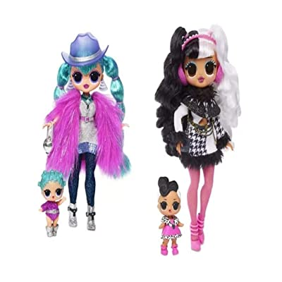 L.O.L. Bundle of Winter Disco Two Dolls Cosmic Nova Dollie: Toys & Games