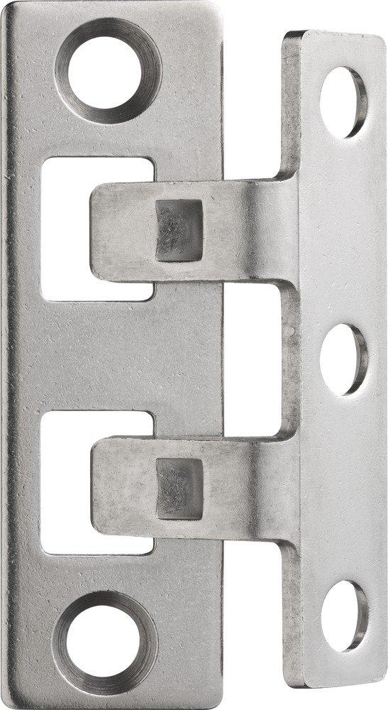 ABUS Scharnierseitensicherung TAS102, edelstahl, 24535 245350