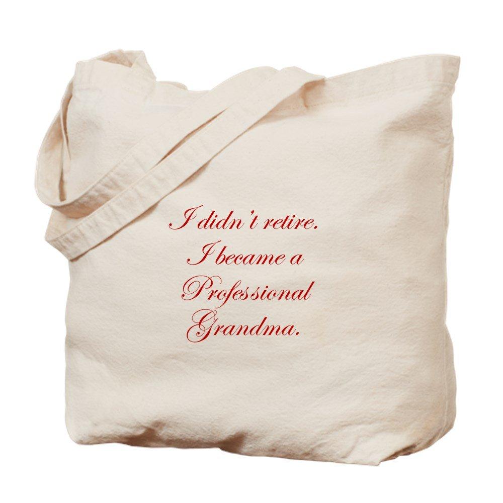 CafePress – professional-grandma-edw-red – ナチュラルキャンバストートバッグ、布ショッピングバッグ B01CH6UGZS