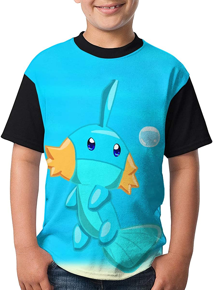 Brocade Carp Mudkip Boy Custom Tees