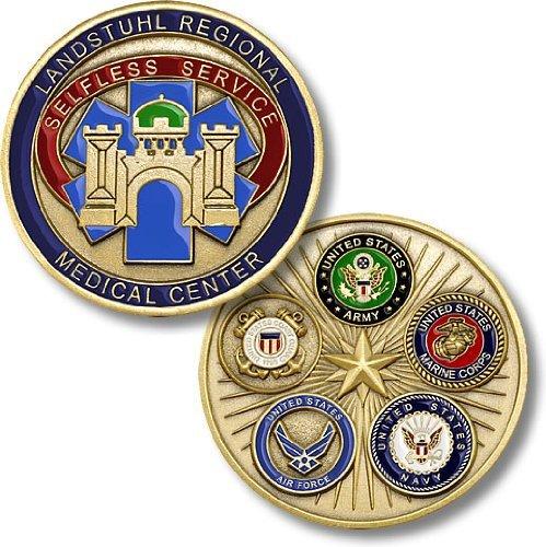 Center Challenge Coin - 9