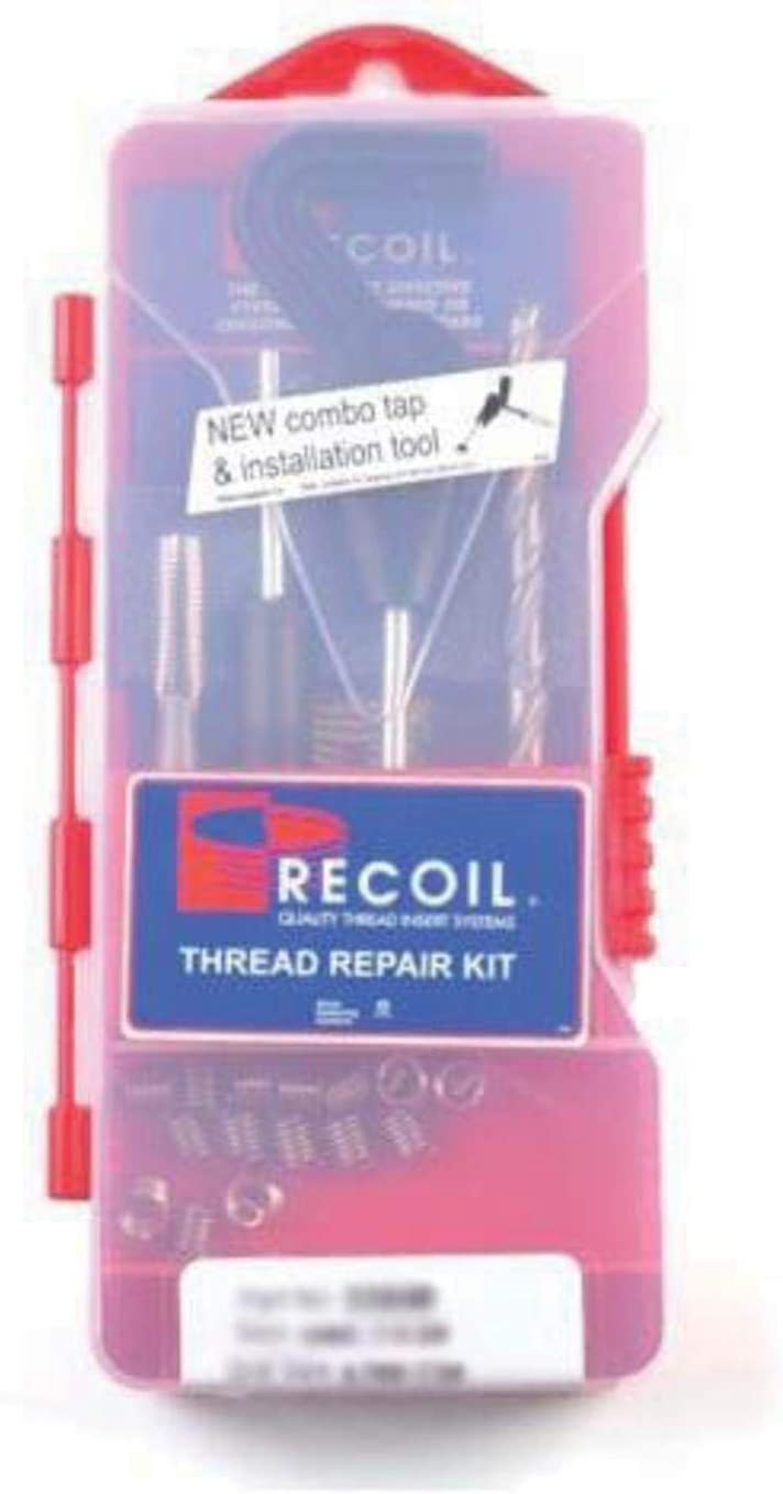 Inserts Recoil 35118 Trade Series Thread Repair Kit M11 x 1.5 Metric Coarse 1.5D 1 PK 10 Pc