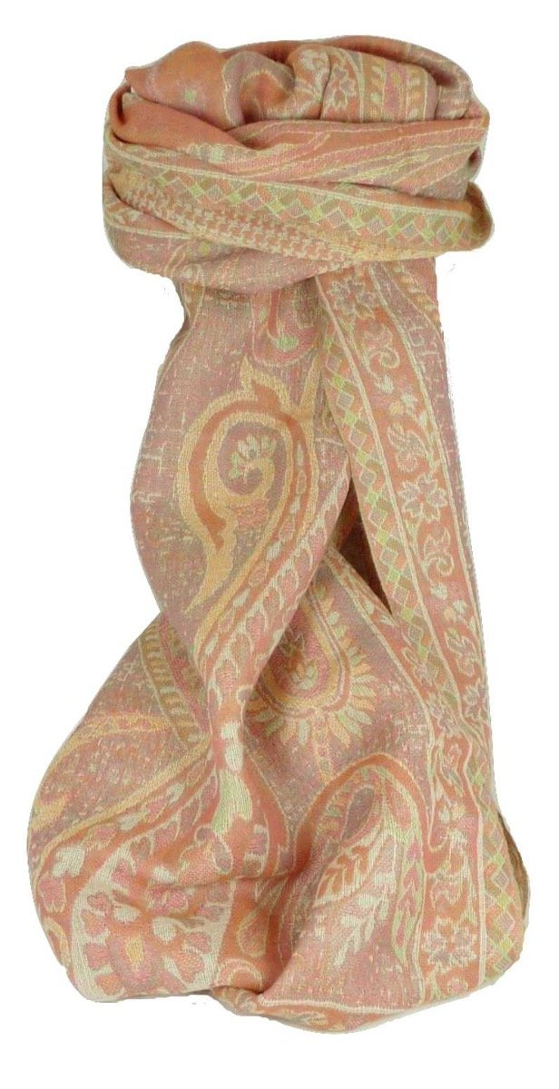 Muffler Scarf 3173 in Fine Pashmina Wool from the Heritage Range by Pashmina & Silk