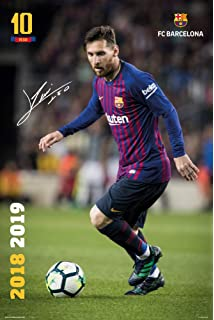 Barcelona Messi Poster 18-19 40x50cm