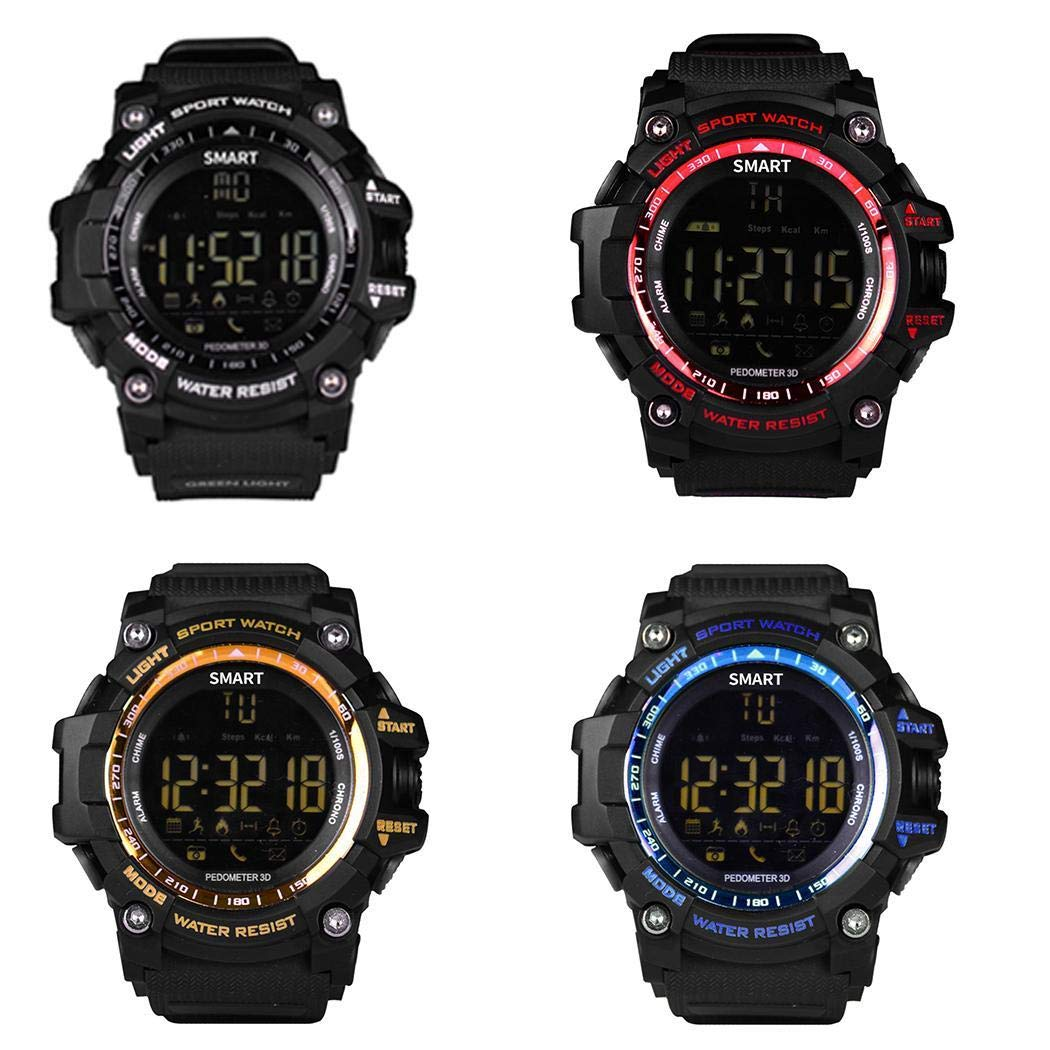 Voiks Reloj Inteligente Bluetooth, Smartwatch Impermeable ...