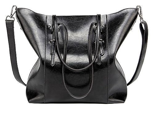 c062bdd8873 Women Handbags,Handmade Large Leather Top Handle Crossbody Shoulder Tote  Satchel Messenger Bags Big Purse