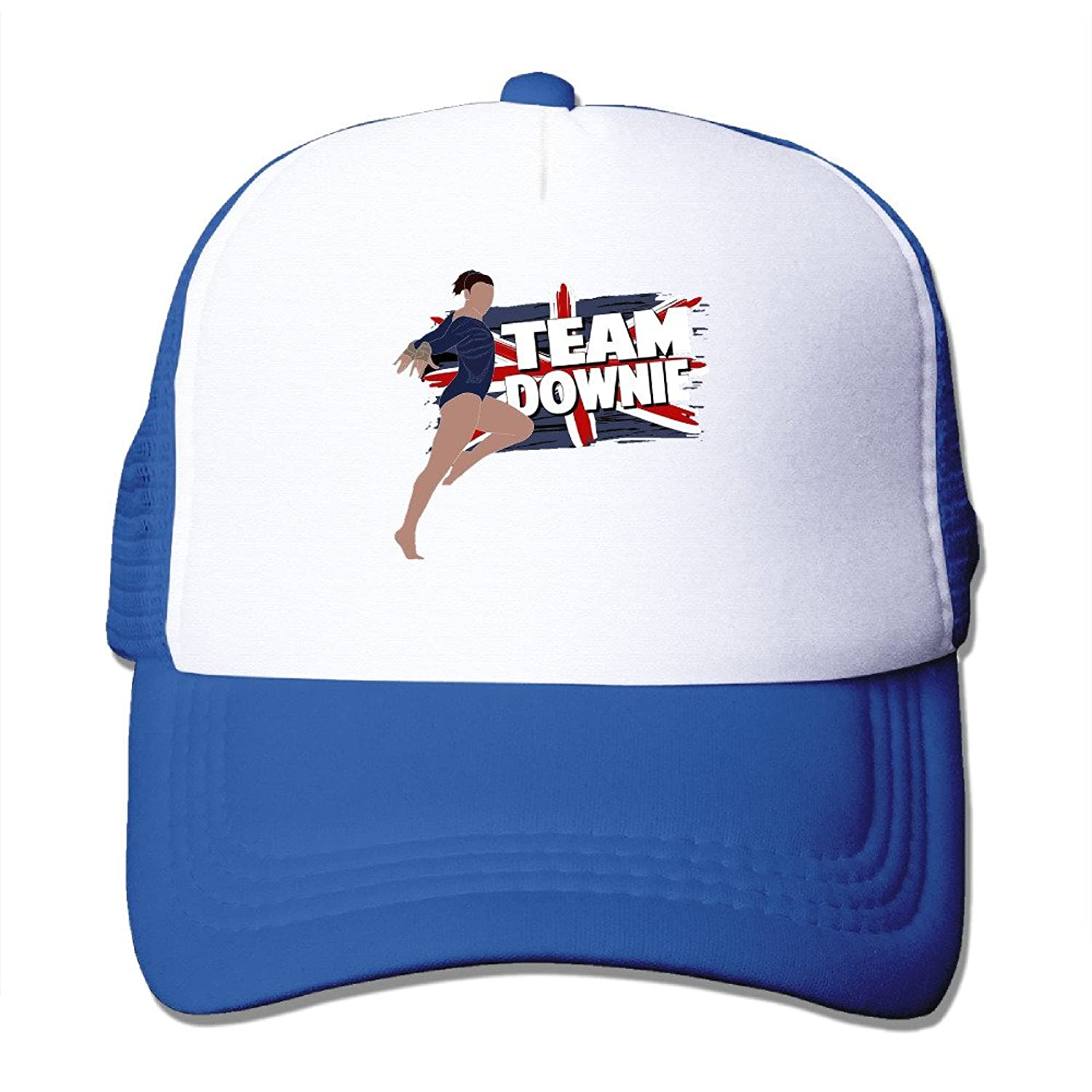 Retro Team Ellie Downie GBR Olympic Adult Nylon Adjustable Mesh Hat Trucker Cap Black One Size Fits Most