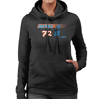 7639078f6e86 Image Unavailable. Image not available for. Color  POD66 Haynes Brand Chiba  City Racing 72 Women s Hooded Sweatshirt