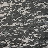 Digital Subdued Urban Camouflage Cotton Bandana (22'' x 22'')