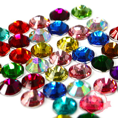 1500-pcs-mix-colors-4mm-diy-resin-round-rhinestones-gems-14-facets-flatback