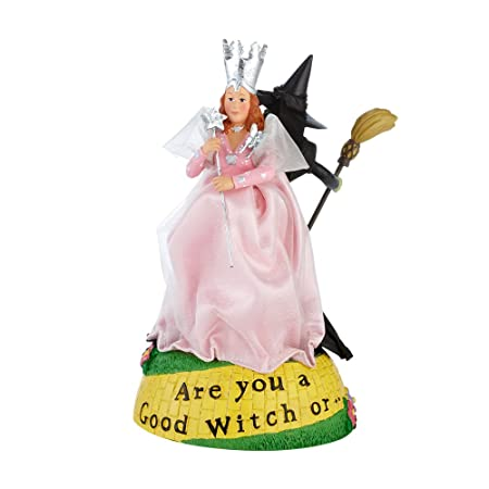 Department 56 Good or Bad Witch Figurine, 7 inch