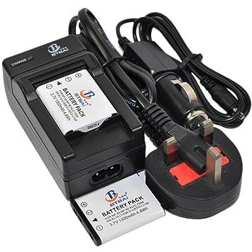 Batería + cargador para Olympus LI-40B LI40B LI-42B LI42B ...