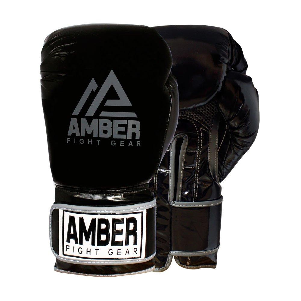 Amber Fight Gear Precisionトレーニンググローブ16oz B075XR3PQC