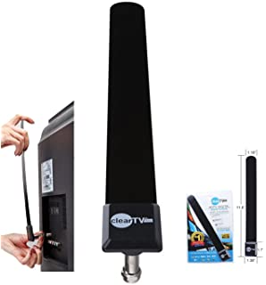 Clear TV Key Digital Indoor Antenna Stick – Pickup More Channels with HDTV Signal Receiver Antena
