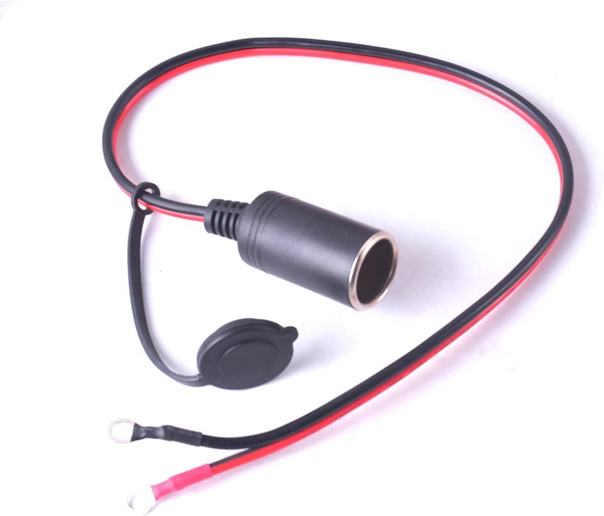 Allume-cigare allume-cigare pour c/âble de charge dextension 10FT adaptateur de d/éconnexion rapide pour batterie solaire automatique 12V 15A pour adaptateur de d/éconnexion rapide