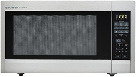Amazon.com: 2.2 CU. FT. 1200 W Countertop Microondas ...