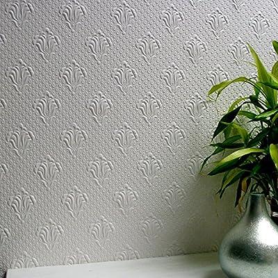 Brewster Albert Supaglypta Wallpaper
