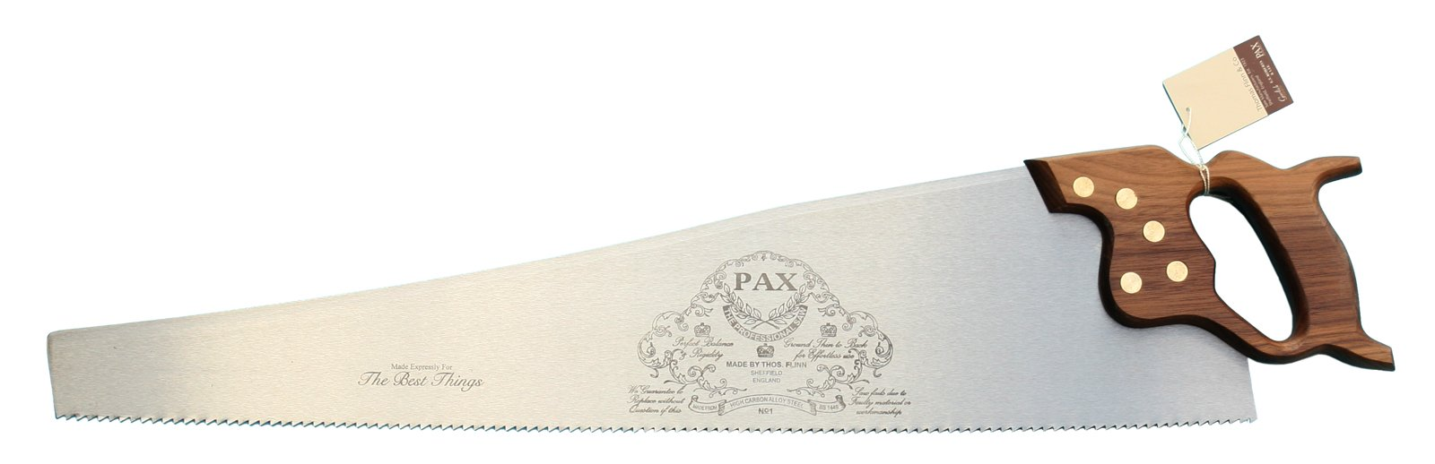Thomas Flinn PAX 26'' Walnut Handled Rip Saw 4.5 tpi by The Best Things by PAX