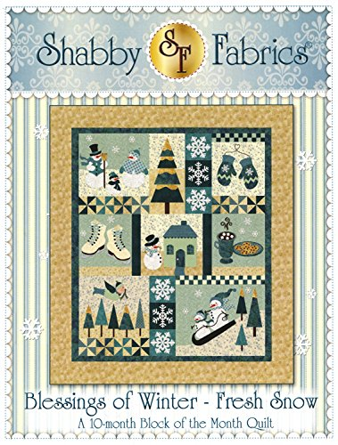 Blessings of Winter - Fresh Snow Quilt Pattern by Shabby Fabrics 55