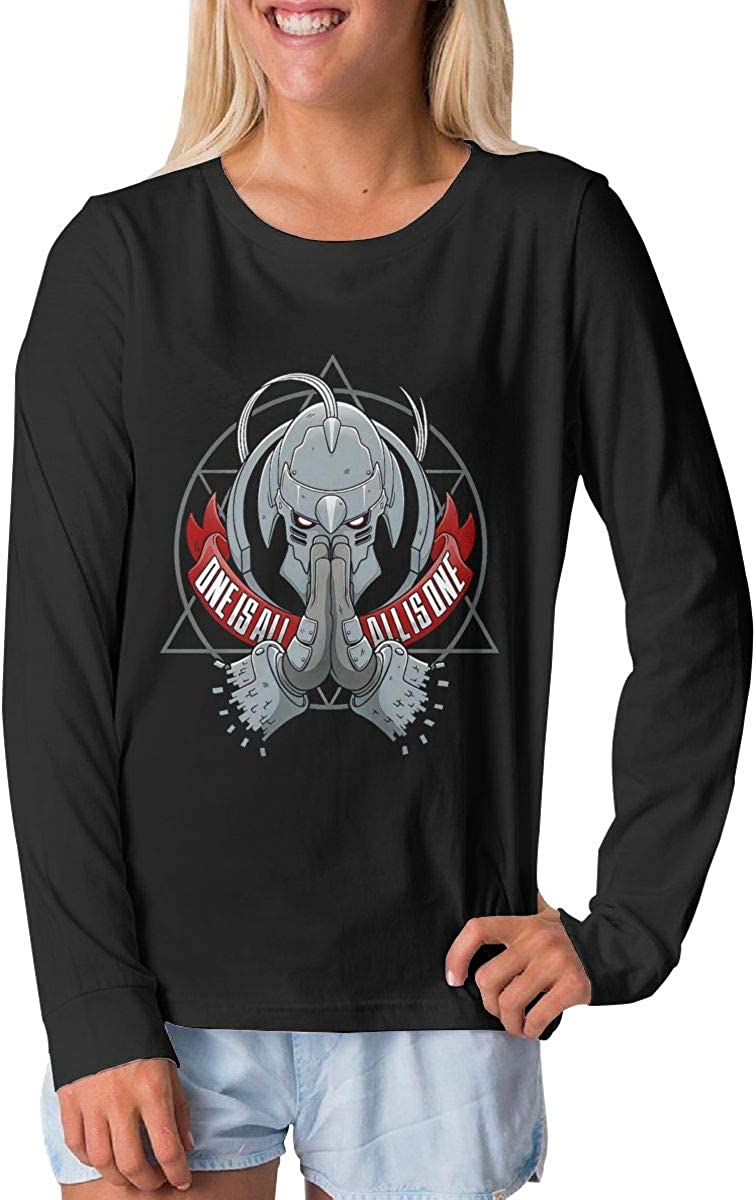 BilliePhillips Adolescent Fullmetal Alchemist Sports Long Sleeve Tshirts
