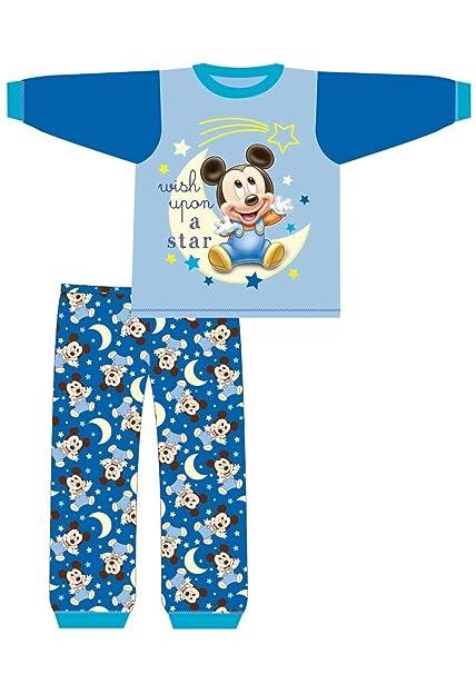 3d4b491df Mickey Mouse, - Pijama Entero - para bebé niño Azul Azul: Amazon.es: Ropa y  accesorios