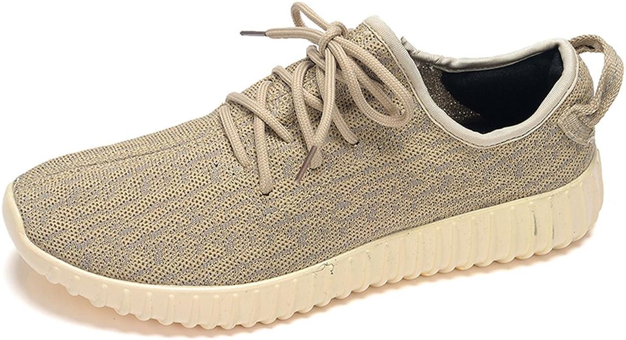 para Hombre Zapatillas Gimnasio Walking Zapatillas Fitness Deportes de Ligero Zapatillas de Running, Color Dorado, Talla 46 EU: Amazon.es: Zapatos y complementos