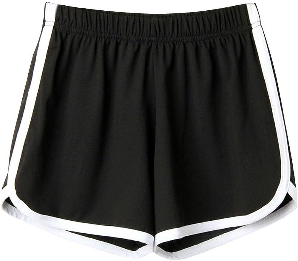Shorts Women Athletic Glorxha Loose Running Women Sports Workout Gym Athletic with Pocket