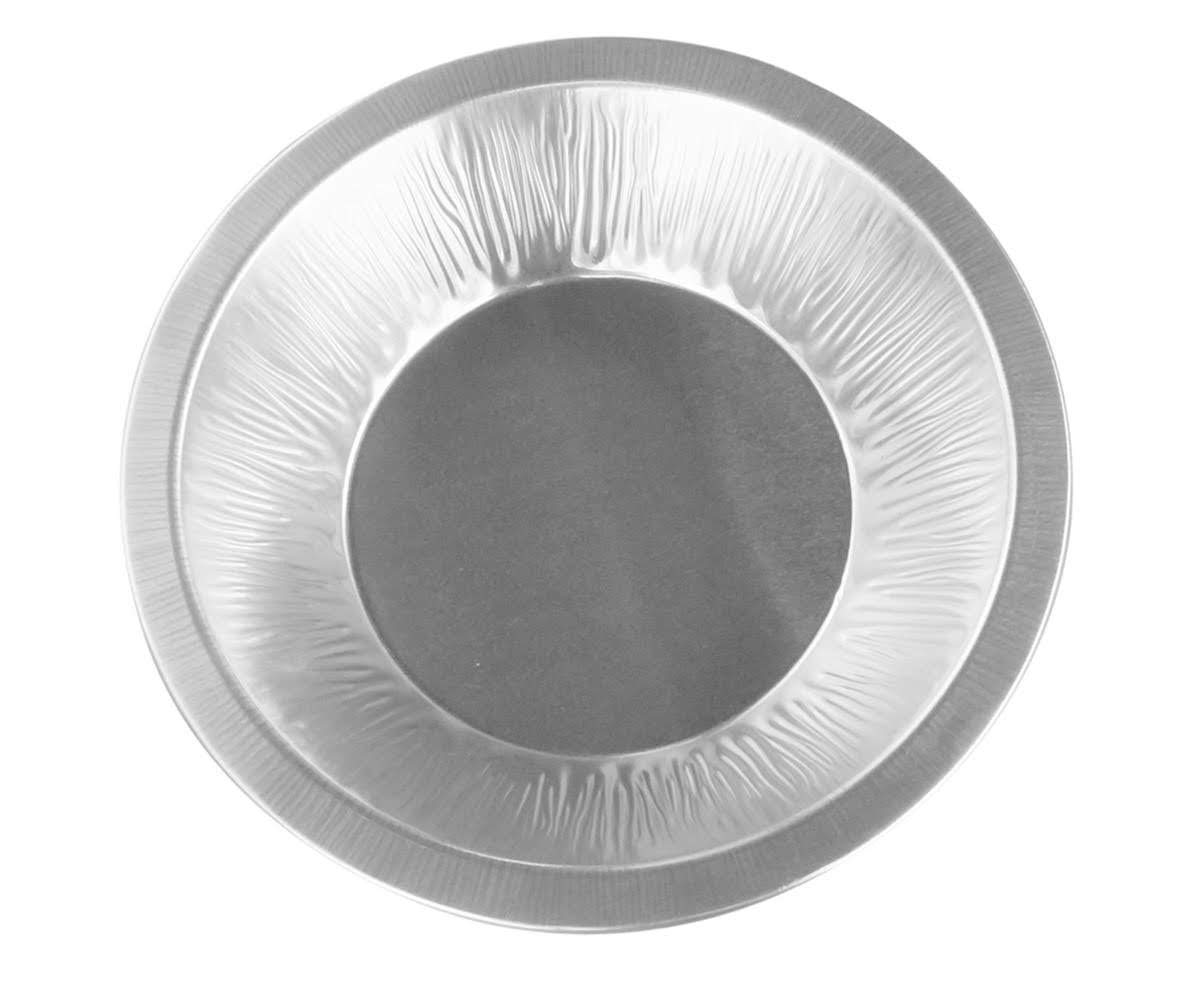"Disposable/Reusable Heavy Duty Aluminum 6"" Mini Pie Pans Deep #677- 11 oz Capacity (25)"